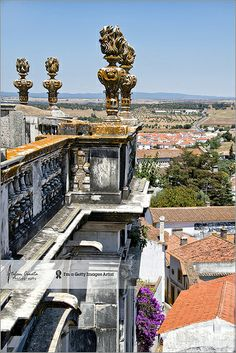 Evora viewed from Cathedral's roof