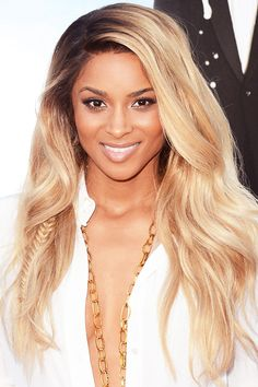 CIARA    When worn loose and matte, beach waves have an edgier appearance; go for the unexpected by adding a fishtail braid.