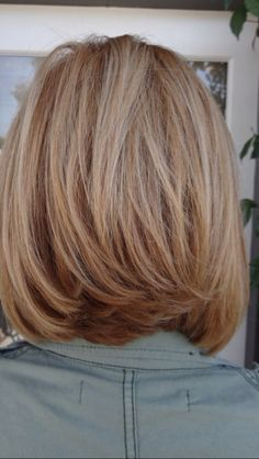 Like this length ...... Especially for hair as thick as mine.