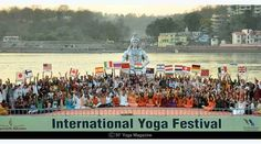 Festivals Of India, Fairs And Festivals, Power Vinyasa Yoga, Chaitra Navratri, Rishikesh Yoga, Yoga Festival, International Yoga Day, March Month, Yoga School