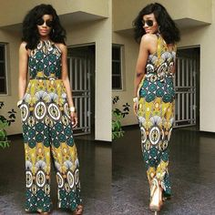 Stunning Ankara Skirt and Blouse Style For Wedding Ceremonies - Sisi Couture Ankara Skirt And Blouse, Ankara Dress, Ankara Fabric, Ankara Jumpsuit, African Dresses For Women, African Women, African Wear, African Style, African Beauty