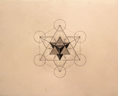 metatron's cube tattoo - Google Search