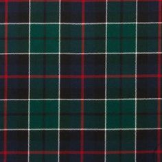 Leslie Green Modern Lightweight Tartan by the meter – Tartan Shop