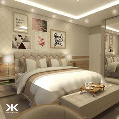 Bedroom closet makeover wallpapers Ideas for 2019 Closet Bedroom, Dream Bedroom, Master Bedroom, Modern Bedroom Decor, Teen Room Decor, Bedroom Furniture, Beautiful Bedrooms, Minimalist Home, Apartment Living