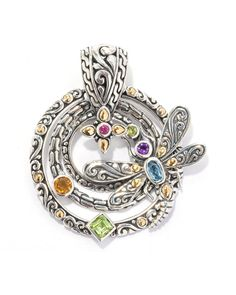 Samuel B. 18K & Silver 1.29 ct. tw. Gemstone Enhancer is on Rue. Shop it now.