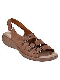 Comfort with every step from the Clarks brand that you know and love ~ Saylie Style. Medway Walking Sandals by Clarks® from Old Pueblo Traders