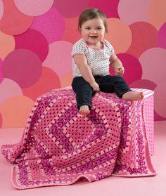 Make it Pink Blanket FREE crochet pattern