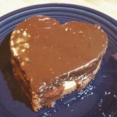 Chocolate Pound cake orange cream cheese filling ganache drip #chocolate #happybirthdaytome