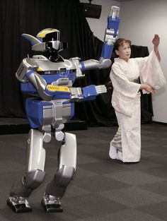 Photo in the News: Dancing Robot