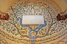Church of Transfiguration Sanctuary Floor Mosaic – Tree of Life in Paradise