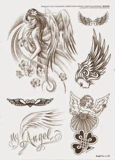 Belagoria | la web de los tatuajes : Tatuajes de ángeles y diseños de regalo