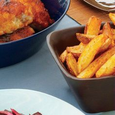Basque Steak Fries   Here, deliciously crispy recipes for oven-baked fries, sweet potato fries, steak frites and more.
