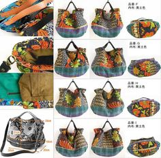 beautiful Japanese bags from http://risiebisi.