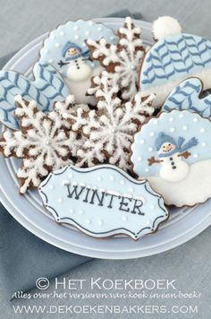 De Koekenbakkers - love the snowflakes!
