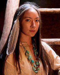 Cherokee Mixed Native American Actress Faye Warren Santa Fe New Mexico Usa Stock Photo 106525838