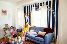 Casa de blogueira: Apartamento descolado de Liz