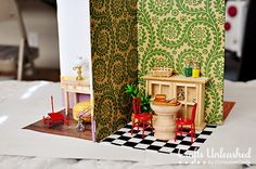 How To Make A Portable Diy Dollhouse