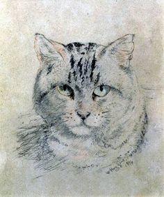 'Tabby Cat' William Huggins (1824-1910)