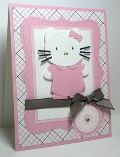 Hello Kitty    The tutorial for the punch art:  http://stampndesign.blogspot.com/201...christmas.html