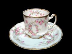 Coleccion Haviland-limoges France-antigua Taza De Porcelana