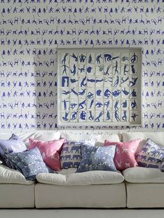 Buy Andrew Martin Mischief Wallpaper By Holly Frean online with  Houseology s Price Promise. Full Andrew Martin collection with UK    International shipping. 9eba29ff75