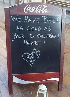 Oooh, this made me giggle! Sharing later. (I doubt that you can get beer that cold!)