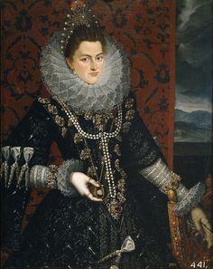 Infanta Isabel Clara Eugenia de Ajustria y Valois