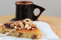 Ciasto orzechowo-migdałowe