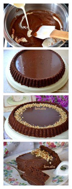 """Pastel de chocolate italiano """"Janduya"""""""