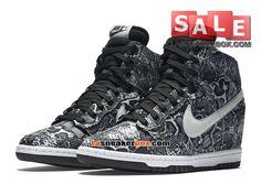 sale retailer 36b92 581f3 Nike Wmns Dunk Sky Hi Print - Chaussure Montante Nike Pas Cher Pour Femme  Fille - 543258-005 - Boutique Nike (FR)   LaSneakerBox.com