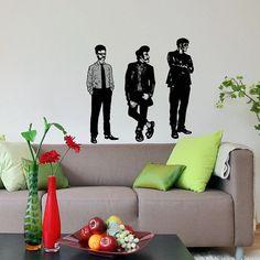 Vinyl Decal Rockers Musicians Rock Style Music Housewares Wall Sticker Design Interior Home Art Decor Bedroom Recording Music Studio SV5140