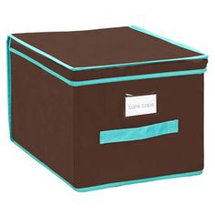 Large Storage Box Cocoa, $13.50, now featured on Fab.