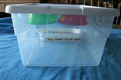 Pull Apart Color Sort