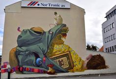 Etam Cru, For Nuart 2014 - Stavanger, Norway