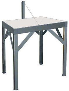 How To Make A Wedging Table?