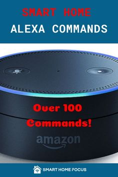 The best Alexa commands to use in your smart home. Read my list of Alexa commands easily organized to find what you need. How many of these do you use? Amazon Alexa Commands, Amazon Alexa Skills, Amazon Echo Tips, Amazon Hacks, Alexa Dot, Alexa Echo, Best Alexa Commands, Alexa Music, Home Focus