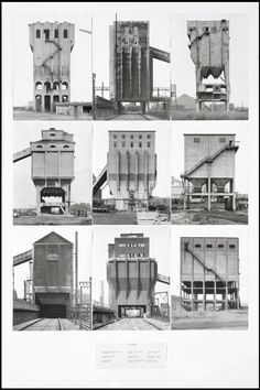 The Photographic Comportment of Bernd and Hilla Becher -- tate.com