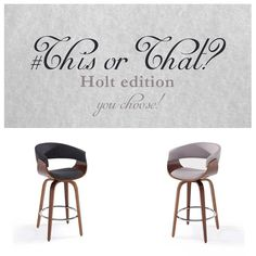 Counter Stools, Accent Chairs, Charcoal, This Or That Questions, Grey, Instagram Posts, Beautiful, Style, Upholstered Chairs