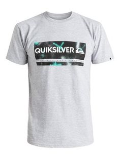 quiksilver, Check My Spray Tee, Highrise-h (sgrh)