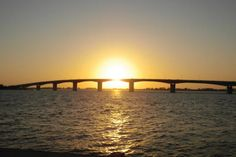 Ringling bridge. Sarasota, Florida.
