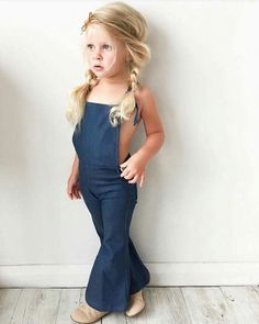 Fashion Kids Jeans Little Girls 31 Super Ideas Hippie Kids, Hippie Baby, Hippie Chick, Fashion Kids, Trendy Fashion, Little Girl Outfits, Kids Outfits, Cute Overalls, Hippie Outfits