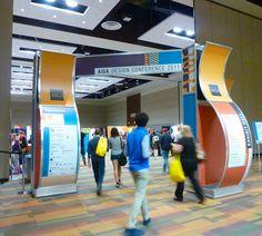 AIGA Pivot Conference Entrance Unit.