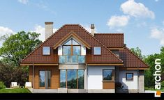 Projekt domu Dom w rukoli (N) - ARCHON+ Home Fashion, Cabin, Mansions, House Styles, Website, Home Decor, Logs, Country Homes, Decoration Home