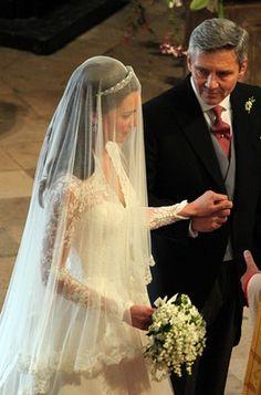 Kate Middleton ~ wedding day
