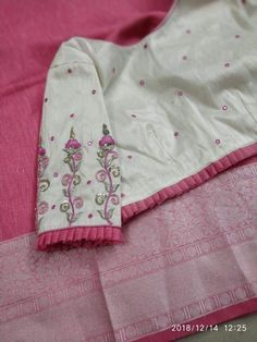 Order contact my whatsapp number automatic alt text available - SalvabraniBeautiful Lenin silk sarees with awesome blouses Price - Pattu Saree Blouse Designs, Simple Blouse Designs, Stylish Blouse Design, Fancy Blouse Designs, Designs For Dresses, Blouse Neck Designs, Blouse Styles, Designer Blouse Patterns, Mode Hijab