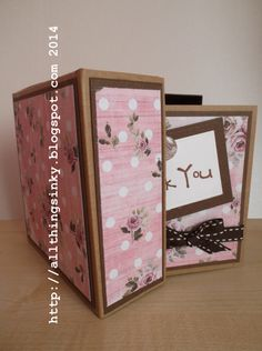 Handmade Thank You Cards With Box