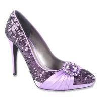 Renee Fable Shoes (Violet Sequins) - Women's Shoes - M Pretty Shoes, Cute Shoes, Me Too Shoes, Purple Wedding Shoes, Purple Shoes, Color Lila, Expensive Shoes, Shades Of Purple, 50 Shades