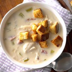 Texas Black Bean Soup Recipe | Taste of Home Slow Cooker Soup, Slow Cooker Recipes, Crockpot Recipes, Easy Recipes, Group Recipes, Dinner Recipes, Dip Recipes, Dinner Ideas, Breakfast Recipes