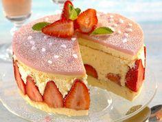 La meilleure recette de fraisier au Thermomix ! Ce délicieux dessert emblématique du printemps à réaliser de A à Z avec votre TM5 ou TM31 :)