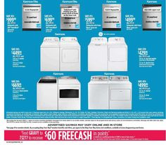Kenmore Elite, Black Friday Ads, Coupons, Check, Coupon